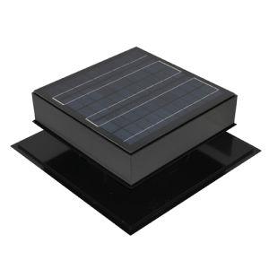 Ventilador no sótão Solar 30W com a pá do ventilador de nylon
