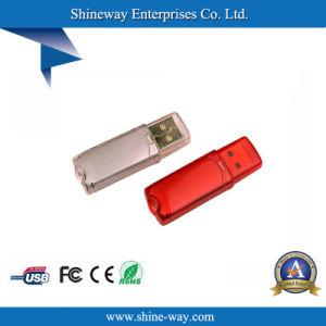 Многоцветный Semi-Transparent пластиковую карту USB с индивидуального логотипа