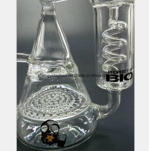 Glaspfeife für doppelte Schicht-Bienenwabe-Filterrohr