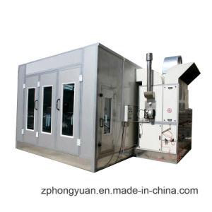 Cabina de pintura automática con ventilador de admisión y escape
