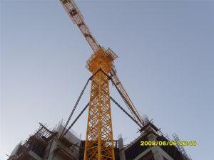 4t Ce China Auto escalada grúa torre Qtz4810