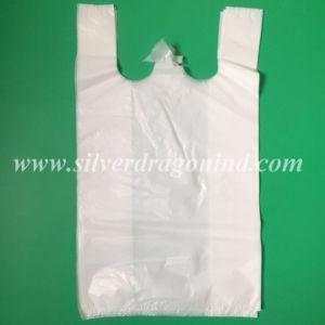 Kundenspezifische HDPE Plastikweste-Beutel für das Einkaufen