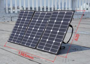 Portable 120W Sunpower Manta Solar Panel solar plegable Camping