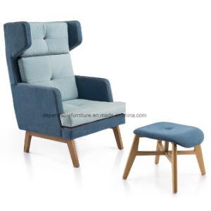 ソファの家具の寝室のリクライニングチェアの足台が付いている単一のソファーのChaiseのラウンジチェア