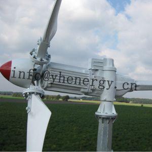 5kw Accueil génératrice éolienne avec contrôleur du système, et de la tour de l'onduleur