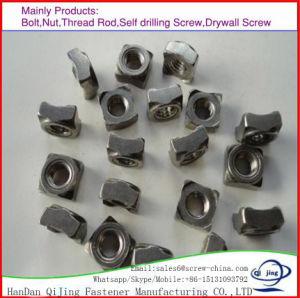 DIN928 Square porcas soldadas de aço carbono M2-M64