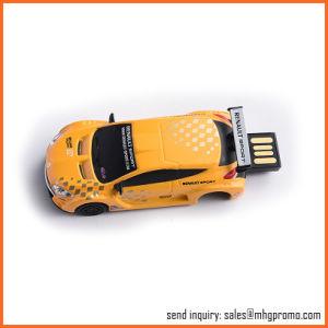 PVCシリコーンのABSカスタム車の形USBのフラッシュ皿車の形USBのフラッシュ・メモリの棒
