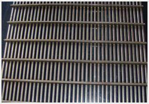 Edelstahl-Vdraht-Filtrationsschirm für Wasserbehandlung