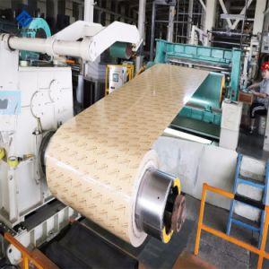 OEM PE PVDF de Kleur van de Legering van het Aluminium bedekte de Vooraf geverfte Rol van het Aluminium voor Bouwmateriaal met een laag