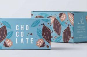 Forma rectangular impresos personalizados a todo color el envasado de alimentos caja de bombones caramelos