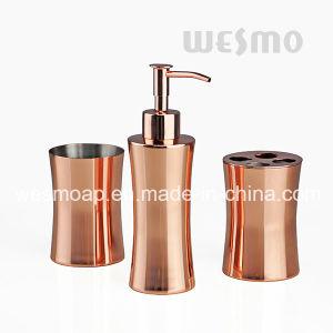 L\'eau le placage en or rose Salle de bains Accessoires en acier ...