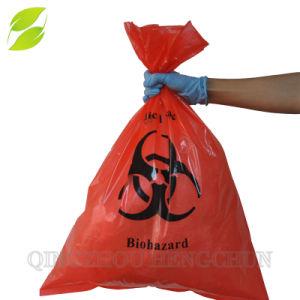 Corbeille de sacs de chemise de Biohazard Déchets de plastique Sacs à déchets médicaux