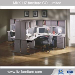 Muebles de oficina oficina modular de madera de estaciones de trabajo de escritorio ejecutivo (2215)