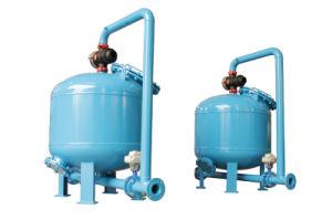 IP55 / IP65 filtro de arena poco profunda el depósito con sistema de control Siemens