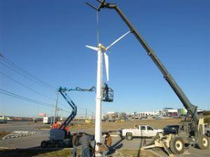 Moulin à vent faible bruit de turbine 5kw