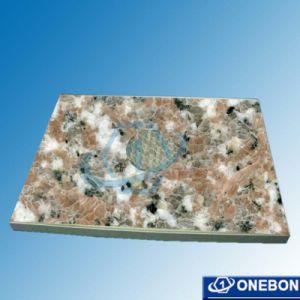 Marble-Texture aluminium Panneau alvéolé