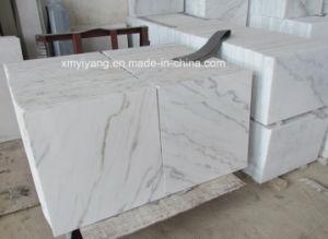 De Witte Marmeren Tegel van China Carrara voor de Muur van de Bevloering (YM -002)