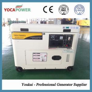 Мощный двигатель с водяным охлаждением воздуха 5.5kw малых дизельных генераторных установках