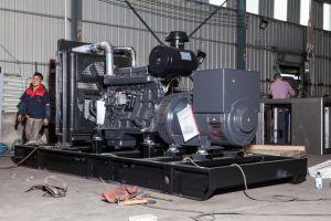 10kVA 25kVA Powered gerador diesel super silencioso pela Cummins