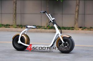 Klassische Stadt-Coco-elektrischer Roller des grossen Rad-800W