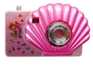 Diseño de moda el tema de Shell de juguetes para niños de la cámara con función de Visor de imágenes para la promoción