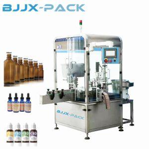 Perfume automático de la cosmética de Aceite Esencial de plástico líquido E llenado de botellas de vidrio tapado máquina de sellado