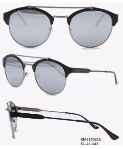 Zonnebril van de Zonnebril van het metaal de Hete Verkopende Unisex- (KMS17021S)