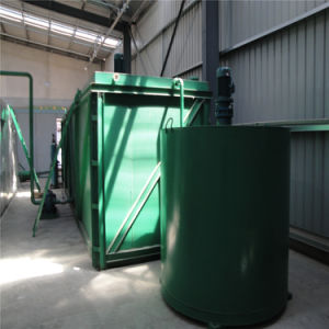 China de recuperación de aceite reciclado de aceite usado aceite negro de la unidad de destilación
