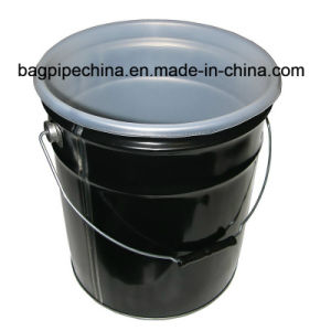 El cubo de acero de la camisa 5 Gal. 20 litros.