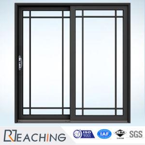 Portello scorrevole di alluminio standard di vetratura doppia Autralian