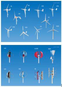 Pequeño generador de potencia vertical inferior de /Wind de la turbina de viento de la revolución por minuto del imán 400W