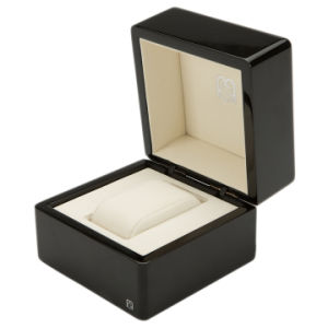 De houten Doos van de Juwelen van de Gift van de Opslag van de Verpakking van de Vitrine van het Horloge Verpakkende