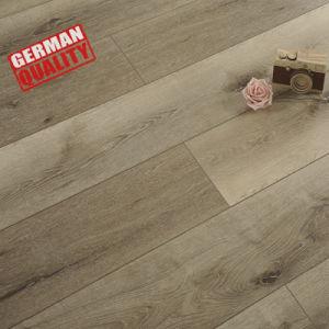 Material de construção de piso laminado piso laminado de madeira mosaico barata