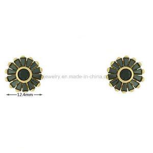 Stijl van de manier plateerde de Nagel van het Oor van de Parels van de Halfedelsteen van Juwelen (KE3256)