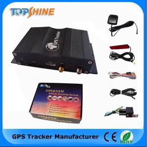 Мощный автомобиль GPS Tracker с 4 датчика уровня топлива 4 камеры