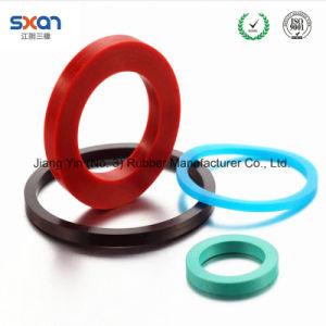 EPDM NBR caucho FKM Empaquetadura de anillo plano personalizado