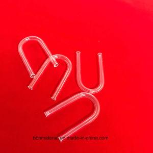 Tubo di vetro del quarzo fuso della radura di figura di U per la termocoppia