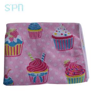 Praia da rosquinha Bonitinha toalha toalha Cupcake Loja panos de limpeza sem pêlos