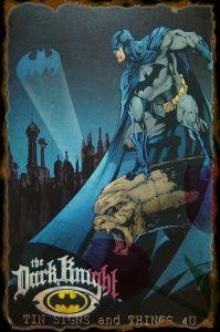 漫画の金属の錫ポスター
