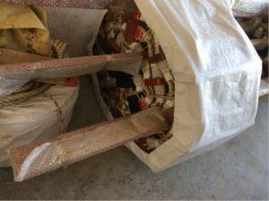 Évacuation d'urgence maritime du pilote de navires échelle de corde de bois de saule à bon prix