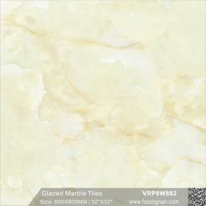艶をかけられた等級AAAのセラミックタイルの大理石の磨かれた床タイル(VRP8W898、800X800mm)