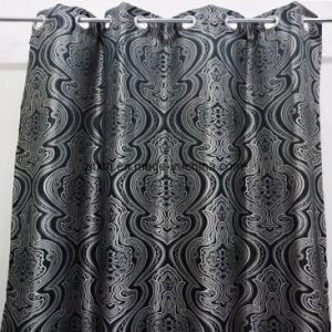 Diseño clásico salón cortina de tela al por mayor 150cm.