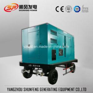 180kw de mobiele Diesel van de Stroom van Cummins van het Type van Aanhangwagen Reeks van de Generator