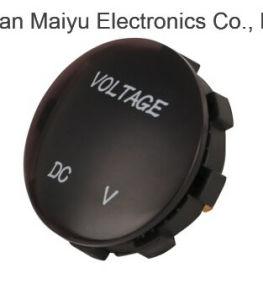 Цифровой вольтметр, Vstm измеритель заряда батареи 12V-24V постоянного тока цифровой вольтметр дисплея