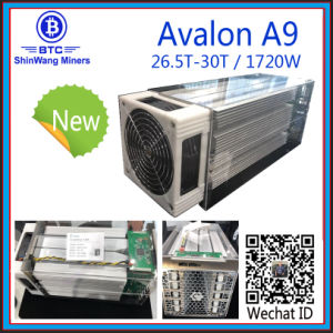 De Mijnwerker 1720W 7nm Shiping van Avalon A9 30t Bitcoin van Preorder MEDIO in September ---Shenzhen