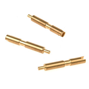 エレクトロニクス産業のCNCによって機械で造られる溝を作られた接触Pin