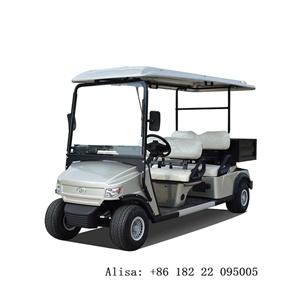 4 Bancos Eléctricos Zhongyi Golf Club Carrinho para venda com caixa de golfe