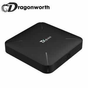 Tx5 maximaler S905y2 2GB 16GB Fernsehapparat-Kasten androider Vierradantriebwagen-Kern 4GB DDR4 intelligenter Android Fernsehapparat-Kasten-gesetzter Spitzenkasten WiFi