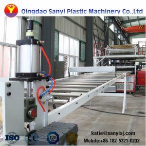 Cliquez sur Système d'utilisation intérieure en plastique PVC imperméable/WPC/spc Flooring Machines