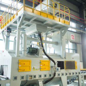 유형 강철 플레이트 H 광속 강철판 탄 폭파 기계를 통해서 롤러 컨베이어 갱도 통행은/탄 청소 기계 또는 기계를 Shotblast